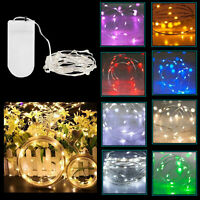20 LED Battery Powered String Fairy Lights for Outdoor BBQ Party Wedding Decor