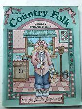 Country Folk Volume 7 Darcie Hunter Painting Instruction Design Craft Book