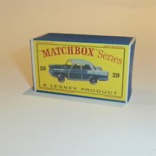 Matchbox Lesney 29 b Austin Cambridge 29 empty Repro D style Box