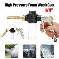 Adjustable High Pressure Washer Spray Nozzle Foam Water Gun Car Cleaning Garden