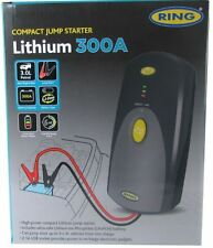 Portable Compact Car Battery Lithium Jump Starter PowerPack Ring 12V 300A RPP950