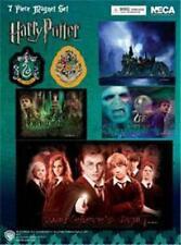 7 pc Harry Potter Ootp Magnet Sheet / Da / Slytherin Crest / Voldemort Nip