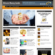 BIT COIN Blog Website Business For Sale Clickbank Adsense 2 Months Free Hosting