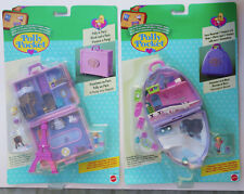 MINI POLLY POCKET 2 Valise New unopend Snow Mountain & Polly à Paris 2 fichier suitcase