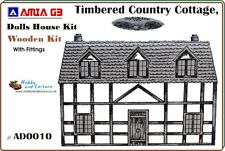 Dolls' House, Timbered Country Cottage Kit, AD 0010 Pre-Cut Kit. Easy Assembly