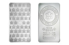 10 oz Silver Bar RCM - Minted - Royal Canadian Mint