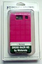 Body Glove Grasp Phone Case DROID RAZR HD By Motorola For Verizon Pink New