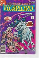 The Warlord Vol 3 No 14  bronze age September 1978 DC Super Star hero Mike Grell