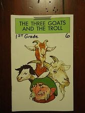 The Three Goats and the Troll by Palmer W. Pinney - Open Court Read - GOOD! B3