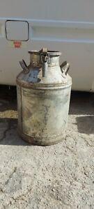 Vintage Metal Large Milk Churns