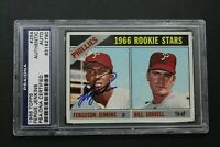 Fergie Jenkins Phillies ROOKIE Card HOF 1966 Topps #254 Signed PSA Autographed