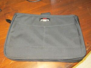 """TUMI 280SD3 Black Ballistic Padded Laptop Sleeve Pouch Case Cover 14x10x2.5"""""""