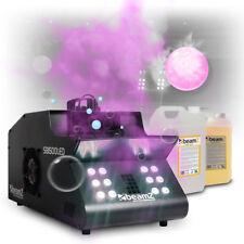 Smoke & Bubble Machine 1500w Colour LED Lights DJ Disco UV Fog Effect Fluids