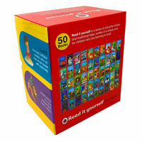 Read it Yourself with Ladybird Collection 50 Books Box Set Levels 1-4