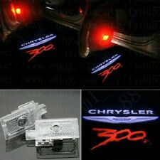 2X Custom Color Led Door Ghost Logo Projector Puddle Light Chrysler 300 2005-20 (Fits: Chrysler)