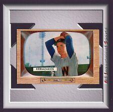 1955 Bowman GUS KERIAZAKOS #14 NM-MT *fabulous card for your set* M40C