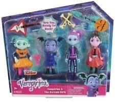 Vampirina & The Scream Girls 9 piece Play Set Dolls NIP