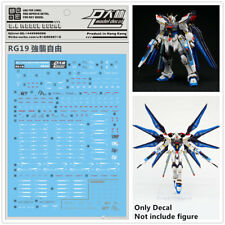 D.L quality Decal water paste Rg19 For Bandai Rg Zgmf-X20A Strike Freedom Gundam