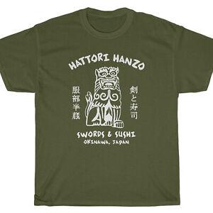 HATTORI HANZO SWORDS & SUSHI T-Shirt - Kill Tarantino Bill