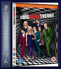 THE BIG BANG THEORY - COMPLETE SEASON 6 - SERIES 6 *BRAND NEW DVD*