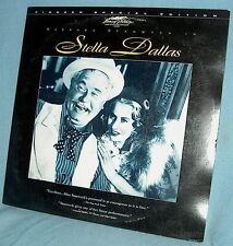 LD laserdisc PSE Barbara Stanwyck STELLA DALLAS '37 b&w KING VIDOR SAM GOLDWYN