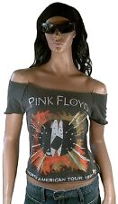 Pink Floyd USA TOUR 1994 Elegantly Waisted by Amplified crystal strass maglietta