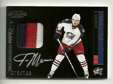 2011-12 Contenders CALDER Contenders Patch Autograph #211 JOHN MOORE  #18 of 100