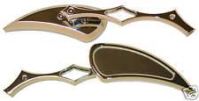 GSXR 600 750 1000 TL1000R TL1000S RF RF600 RF900 CHROME BILLET MIRRORS 302CDT