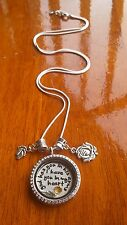 Miscarriage God has you in his arms I have you in my  <3 living memory necklace