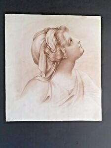 Neoclassical ink drawing, french school, Antique Painting