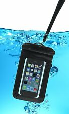 Case It Rugged Series Waterproof Universal Pouch Case Cover with Lanyard – Black