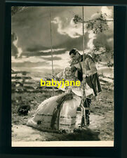 GARY COOPER MARION DAVIES VINTAGE 7X9 PHOTO 1934 OPERATOR 13 OUTDOORS ON A SWING