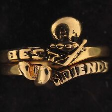 RING SET Tweety Bird WARNER BROS LOONEY TUNES WB STORE Gold BEST FRIENDS 5801