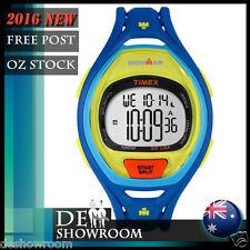 Timex TW5M01600 Mens 50-lap Ironman Blue Resin Watch Indiglo Tw5m01609j