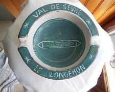 CENDRIER en faïence design 50's Yvon Roy Durtal Montgolfier