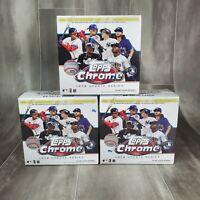 2020 Topps Chrome Update Series Baseball Mega Box - Lot Of 3, Roberts or Acuna?