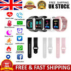 Bluetooth Smart Watch Heart Rate Health Blood Pressure Monitor Fitness Tracker