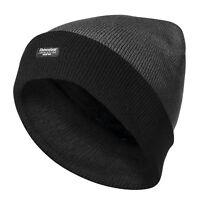 Herren Wintermütze warme Mütze Strickmütze 3M Thinsulate grau schwarz *JULIAN*