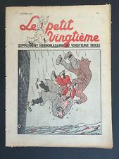Tintin - Hergé - Le Petit Vingtieme du 18 fevrier 1937 - N7