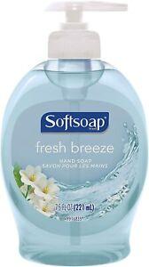 Colgate-Palmolive Softsoap Hand Soap Fresh Breeze, 7.5 Fl Oz