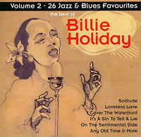 Billie Holiday - Volume 2 - 26 Jazz & Blues Favourites      *** BRAND NEW CD ***