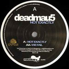 Deadmau5 - Not Exactly + We fail (Mau5trap Rec.) CLUBHIT NEU 12""