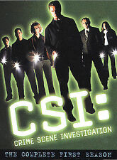 CSI: Crime Scene Investigation - Complete 1st Season (DVD, 2003, 6-Disc Set)