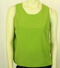 Susan Graver Women's Tank Top Green Size L