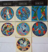 Sunseal Mandalas Sticker window Car bumper Stained Glass Mirror Australia Birds