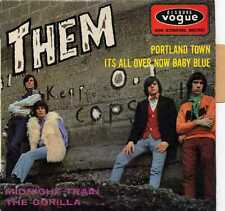 """THEM """"PORTLAND TOWN"""" ORIG FR EP 1967 BELFAST GYPSIES M-/VG++"""