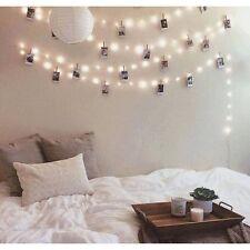 10m Warmweiß LED Lichterkette Party Zimmer Dekoration Beleuchtung WASSERDICHT