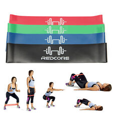 4Pcs Elastic Resistance Loop Bands Exercise Yoga Fitness Gym Training Tube Set