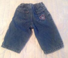Cherokee Girls Jeans Size 9 Months