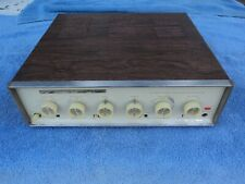 Sherwood S-5500 Iv 4 Integrated Stereo Tube Amplifier With Schematics And Manual